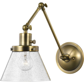 Hinton Collection Vintage Brass Swing Arm Wall Light (149|P710094-163)