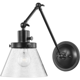 Hinton Collection Black Swing Arm Wall Light (149|P710094-031)