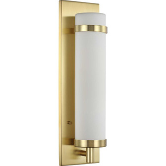 Hartwick Collection Satin Brass One-Light Wall Sconce (149|P710088-012)