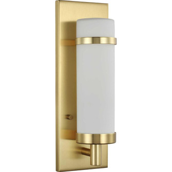Hartwick Collection Satin Brass One-Light Wall Sconce (149|P710087-012)