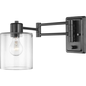 Milner Collection Black Swing Arm Wall Light (149|P710086-031)