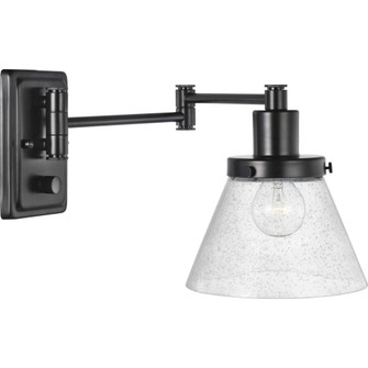 Hinton Collection Black Swing Arm Wall Light (149|P710084-031)