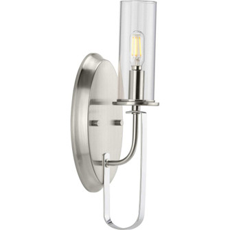 Riley Collection Brushed Nickel One-Light Wall Bracket (149|P710082-009)