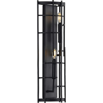 Torres Collection Black Two-Light Wall Sconce (149|P710077-031)