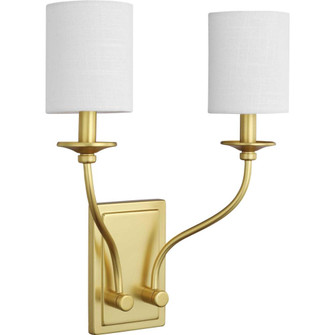 Bonita Collection Satin Brass Two-Light Wall Sconce (149|P710019-012)