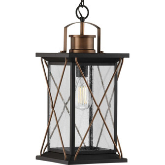 Barlowe Collection Antique Bronze One-Light Hanging Lantern (149|P550068-020)