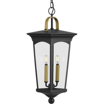 Chatsworth Collection Black Two-Light Hanging Lantern (149|P550067-031)