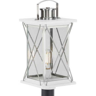 Barlowe Collection Stainless Steel One-Light Post Lantern (149|P540068-135)