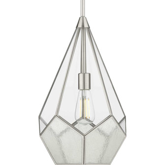 Cinq Collection Brushed Nickel One-Light Pendant (149|P5319-09)