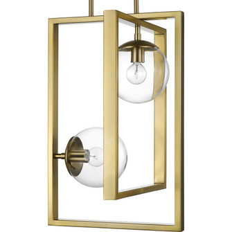 Atwell Collection Brushed Bronze Two-Light Pendant (149|P500284-109)