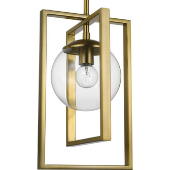 Atwell Collection Brushed Bronze One-Light Pendant (149|P500283-109)