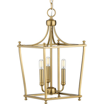 Parkhurst Collection Brushed Bronze Three-Light Foyer (149|P500213-109)