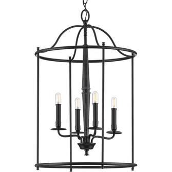 Durrell Collection Four-Light Black Medium Foyer (149|P500210-031)