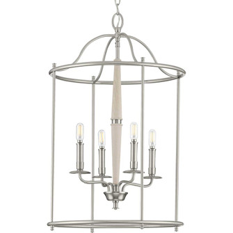 Durrell Collection Four-Light Brushed Nickel Medium Foyer (P500210-009)