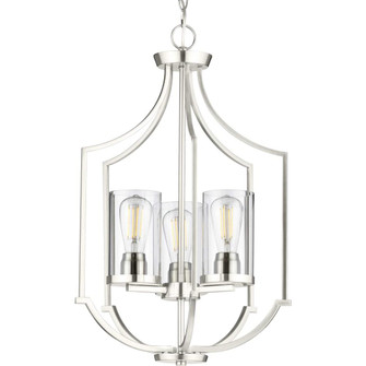 Lassiter Collection Three-Light Brushed Nickel Foyer (149|P500209-009)