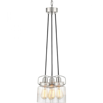 Calhoun Collection Three-Light Chandelier (149|P400132-009)