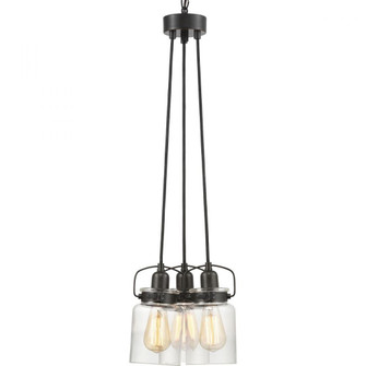 Calhoun Collection Three-Light Chandelier (149|P400132-020)