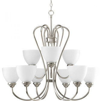 Heart Collection Nine-Light, Two-Tier Chandelier (149|P4668-09)