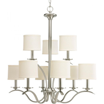 Inspire Collection Nine-Light, Two-Tier Chandelier (149 P4638-09)