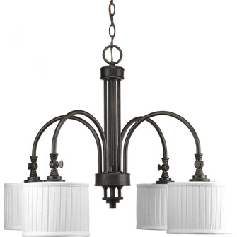 Clayton Collection Four-Light Chandelier (P4421-84)