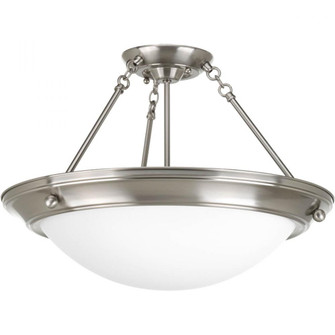 "Eclipse Collection Three-Light 19-3/8"" Close-to-Ceiling (149