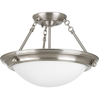 "Eclipse Collection Two-Light 15-1/4"" Close-to-Ceiling (P3567-09)"