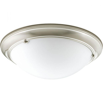 """Eclipse Collection Three-Light 19-3/8"""" Close-to-Ceiling (149