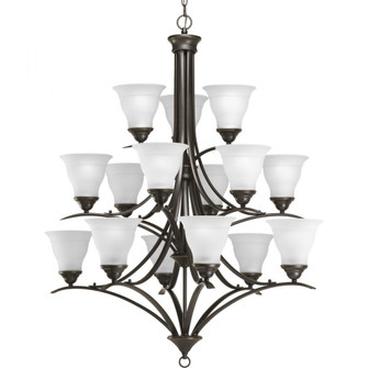 Trinity Collection Fifteen-Light, Three-Tier Chandelier (149|P4365-20)