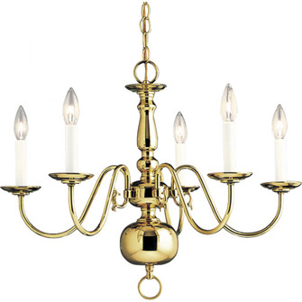 Americana Collection Five-Light Chandelier (149|P4355-10)