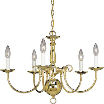 Americana Collection Five-Light Chandelier (149|P4346-10)