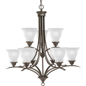 Trinity Collection Nine-Light, Two-Tier Chandelier (149|P4329-20)