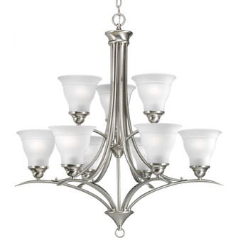Trinity Collection Nine-Light, Two-Tier Chandelier (149|P4329-09)