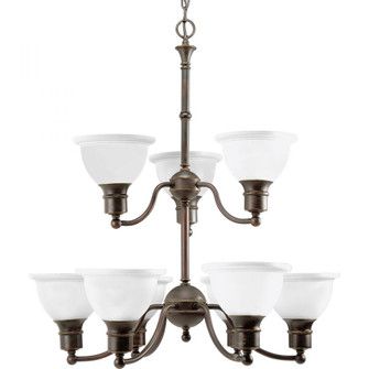 Madison Collection Nine-Light, Two-Tier Chandelier (149|P4283-20)