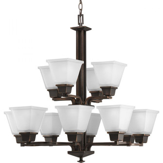 North Park Collection Twelve-Light, Two-Tier Chandelier (149|P4053-74)