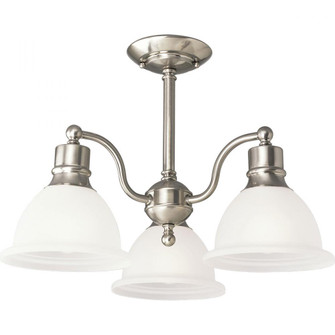 "Madison Collection Three-Light 20-3/4"" Close-to-Ceiling (149
