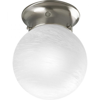 """Glass Globes Collection 6"""" One-Light Close-to-Ceiling (149