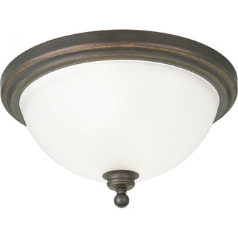 """Madison Collection Two-Light 15-3/4"""" Close-to-Ceiling (P3312-20)"""