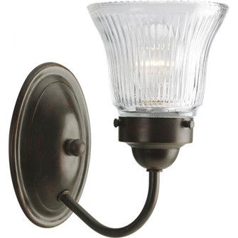 Economy Fluted Glass One-Light Bath & Vanity (149|P3287-20)