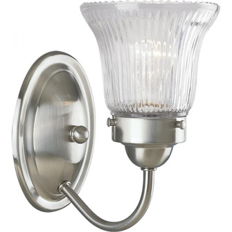 Economy Fluted Glass One-Light Bath & Vanity (149|P3287-09)