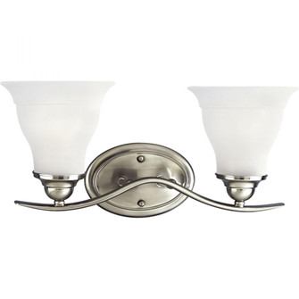 Trinity Collection Two-Light Bath Bracket (149|P3191-09)