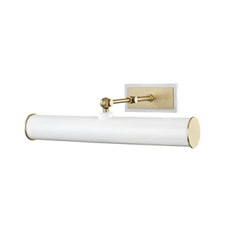 2 LIGHT PICTURE LIGHT WITH PLUG (6939|HL263202-AGB/WH)