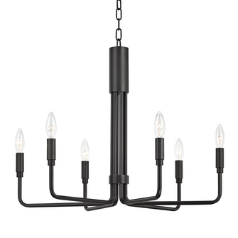 6 LIGHT SMALL PENDANT (6939|H261806-OB)