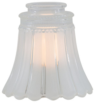 2 1/4 INCH CLEAR/FROSTED GLASS SHADE (39|2560)