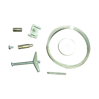 Aircraft Cable Suspension Kit, 20', 1 or 2 Circuit Track (104|NT-355/20)