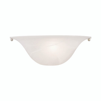1 Lt Painted Satin Nickel Wall Sconce (108|42700-81)