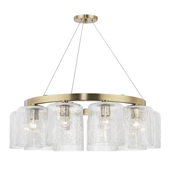 10 LIGHT CHANDELIER (57|3234-AGB)