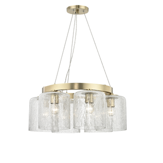 6 LIGHT CHANDELIER (57|3224-AGB)