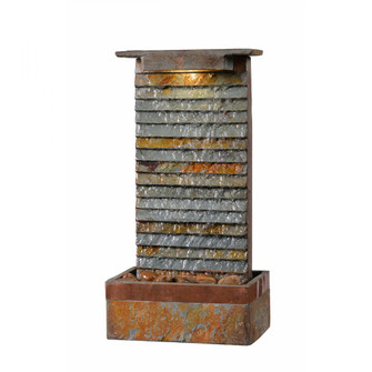 Stave Indoor/Outdoor Table Fountain (67|51023SLCOP)