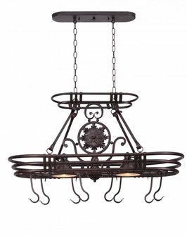 2 Light Pot Rack (67|90304GC)