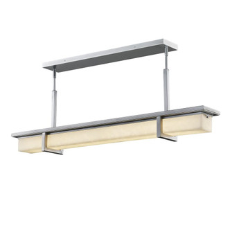 Monolith 40'' Linear LED Outdoor Chandelier (254|CLD-7619W-NCKL)